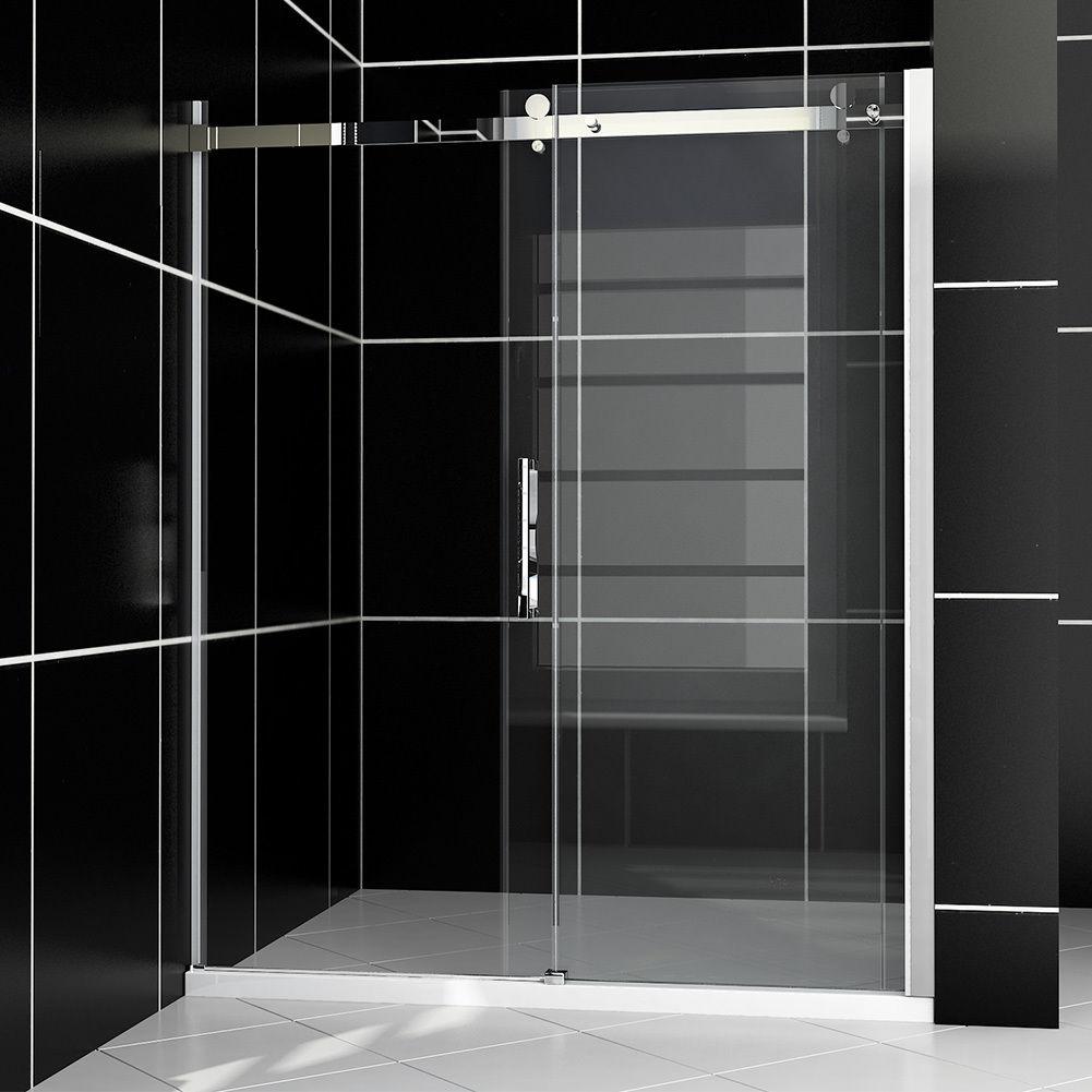 Sunny Shower Frameless Sliding Doors Appear In Hgtv Baths Design