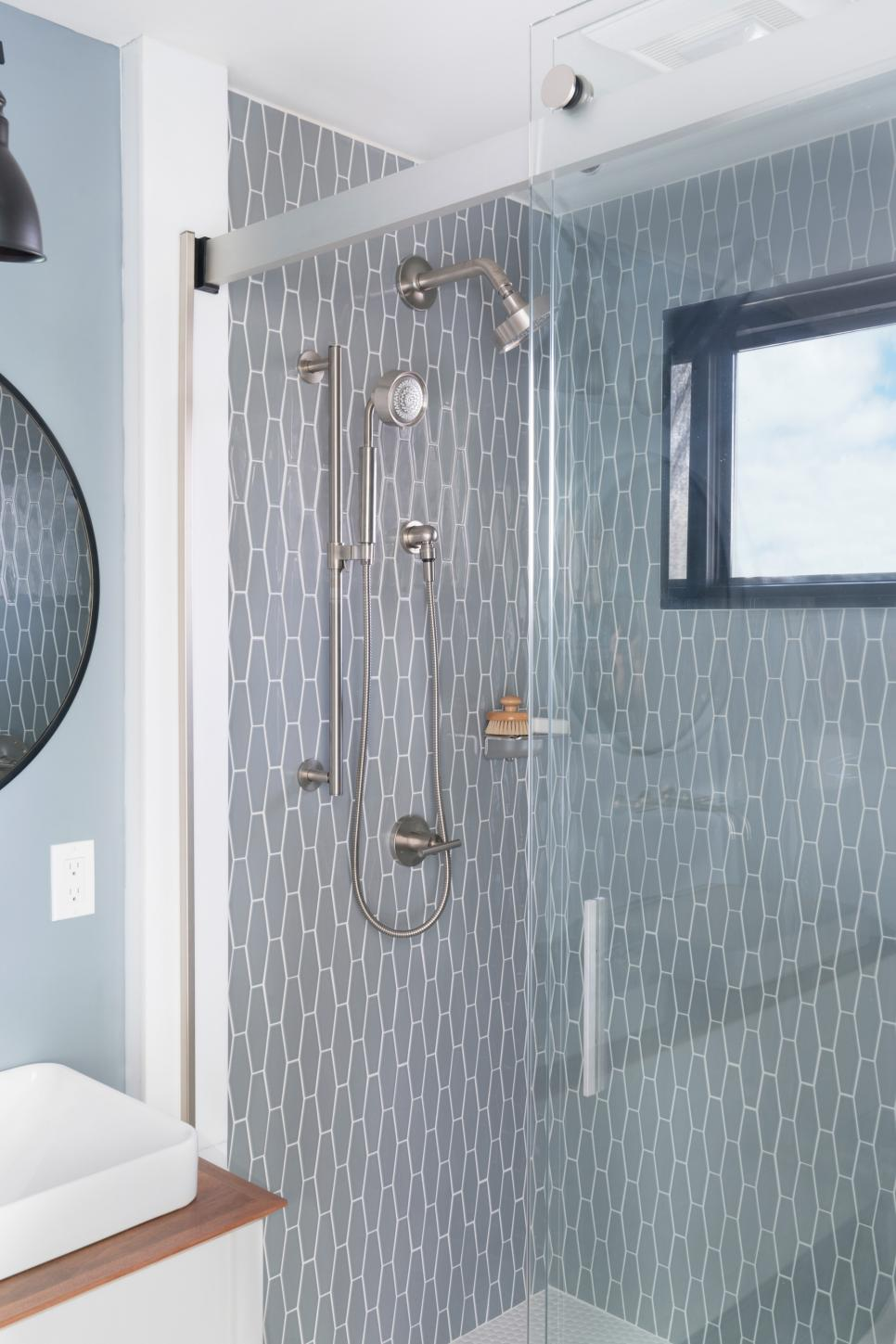 Sunny Shower Frameless Sliding doors Appear in HGTV Baths Design ...