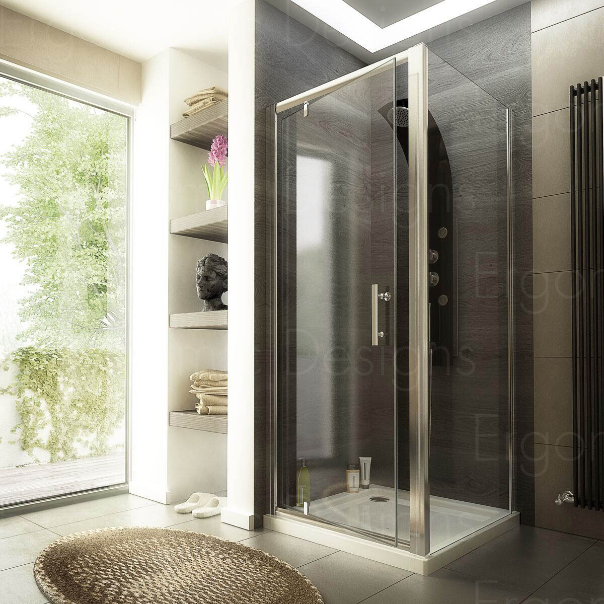 How To Choose A Right Shower Door For Your Bathroom