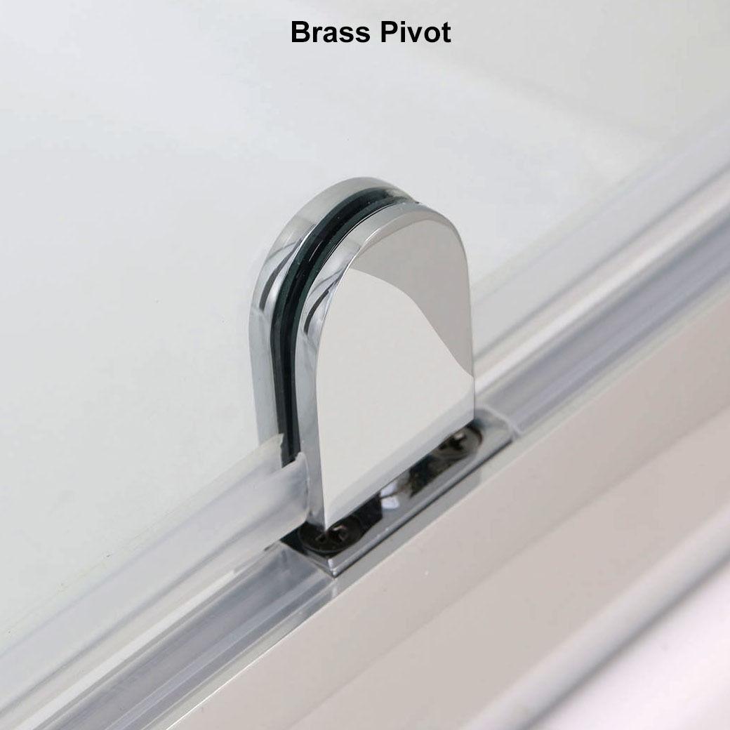 New 30 Quot X 72 Quot One Panel Framed Glass Pivot Shower Door