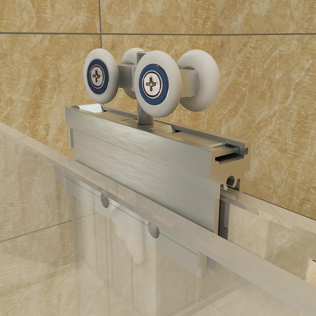 New Frameless Sliding Bathtub Shower Door 60 Quot Clear Glass