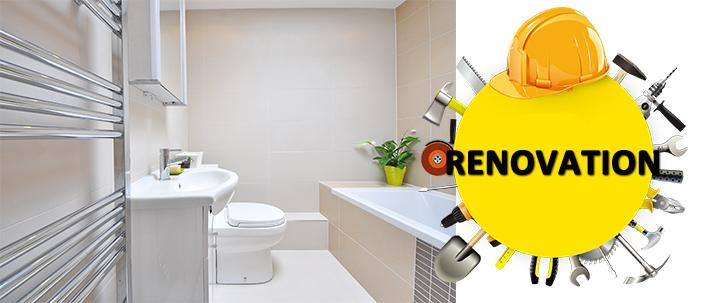 Smart Bathroom,DIY your Big Style—Master Bathroom Renovation