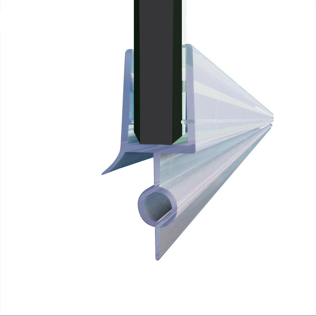 Elegant Fit 14 Frameless Shower Door Sweep Bottom Seal Wipe Drip