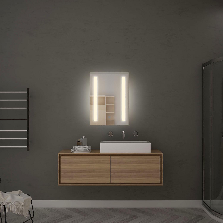 """Elegant Bathroom Wall Sconces: ELEGANT 19""""Bathroom Wall LED Mirror Illuminated Lighted"""