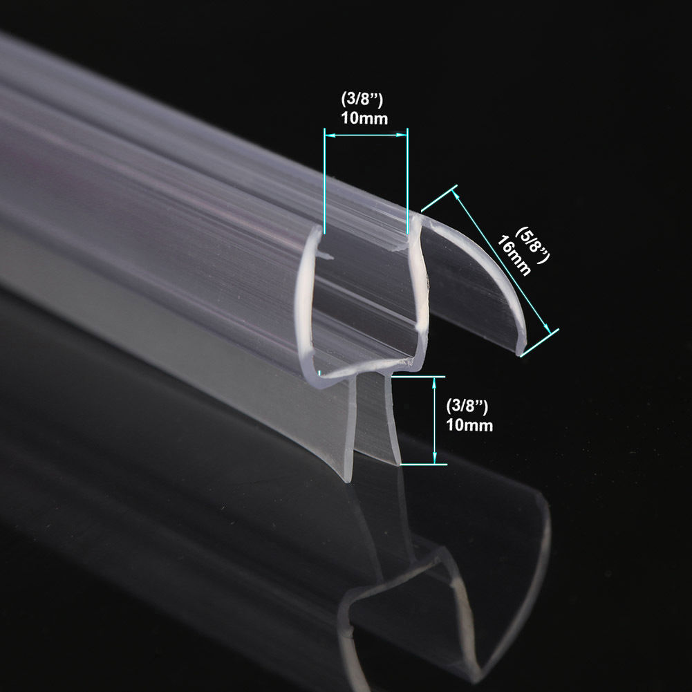 Sunny Shower Glass Shower Door Seal Strip For 3 8 In