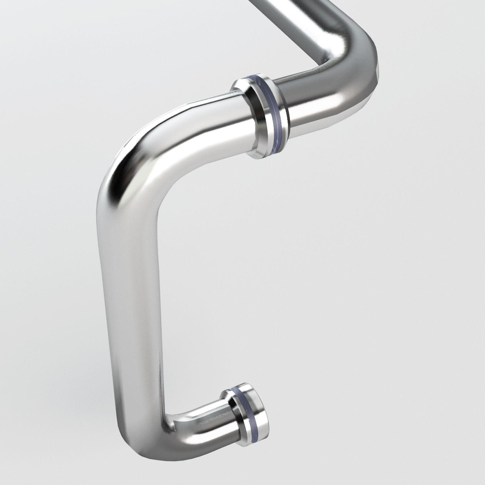 Sunny Shower 6 Quot Pull Handle 18 Quot Towel Bar Combination