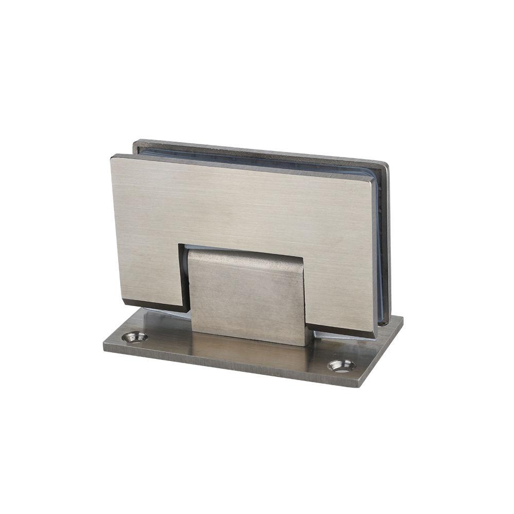Sunny Shower Frameless Pivot Shower Door Wall To Glass Clamp 90 Degree 1 Pair