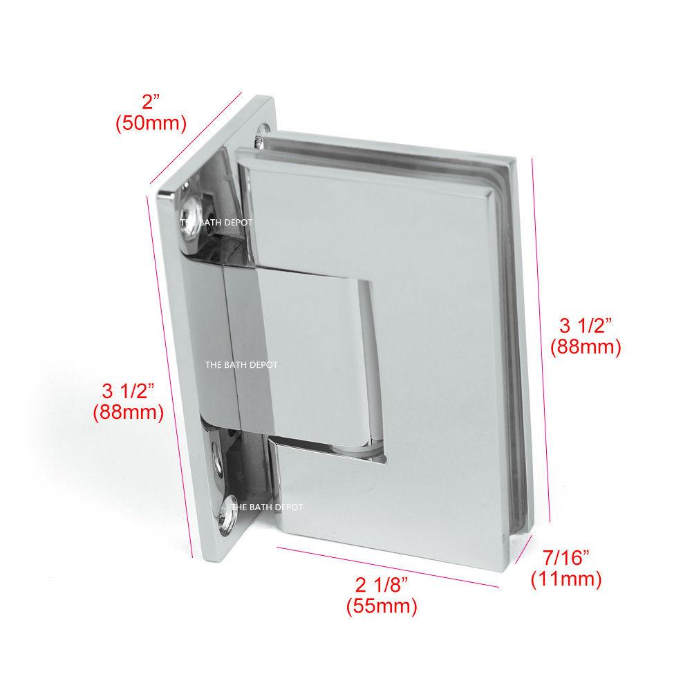 Bathroom Door Hinges : Sunny shower frameless pivot door wall to glass