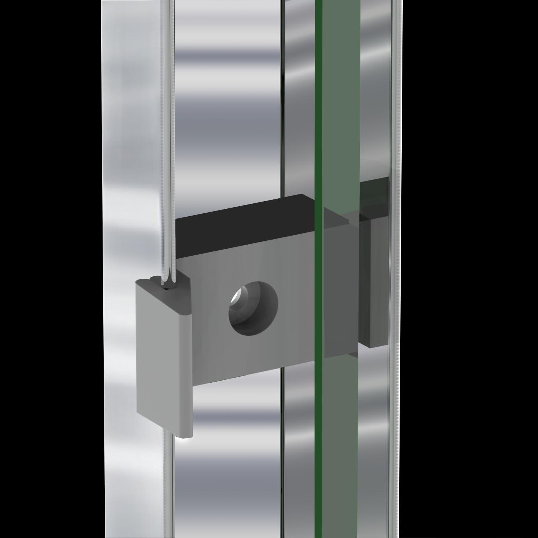 Sunny Shower Semi Frameless 2 Sliding Shower Doors 58 5 60